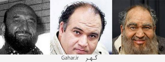 moaamaye shah34 گریم بازیگران معمای شاه و شباهتشان به شخصیت های اصلی/عکس