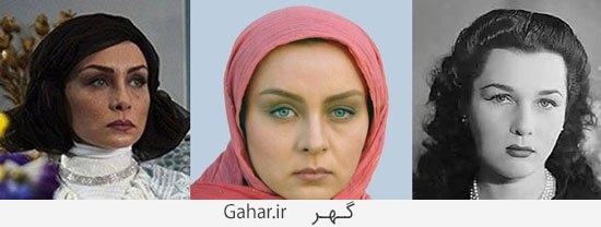 moaamaye shah6 گریم بازیگران معمای شاه و شباهتشان به شخصیت های اصلی/عکس