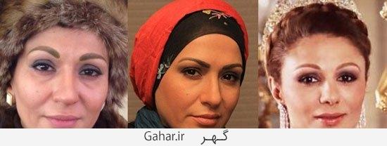 moaamaye shah8 گریم بازیگران معمای شاه و شباهتشان به شخصیت های اصلی/عکس