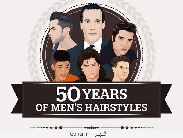 model hair 01 عکس ; سیر تحولی مدل موی مردان از 50 سال پیش تا الان