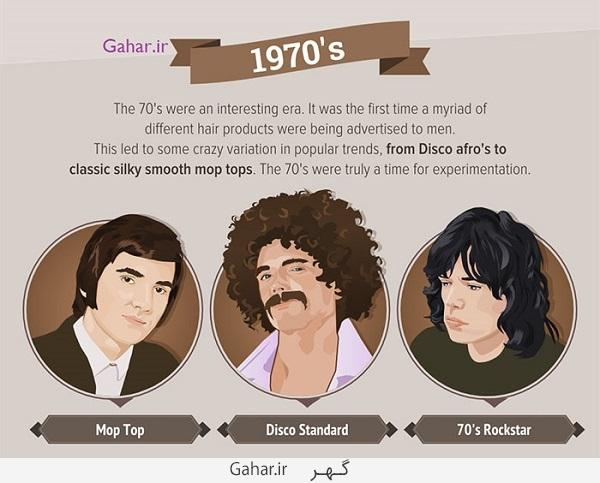 model hair 04 عکس ; سیر تحولی مدل موی مردان از 50 سال پیش تا الان