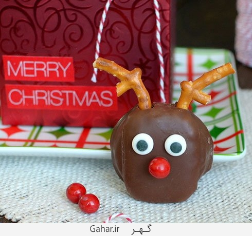 reindeer snack cakes 3 طرز تهیه شیرینی گوزنی : شیرینی کریسمس