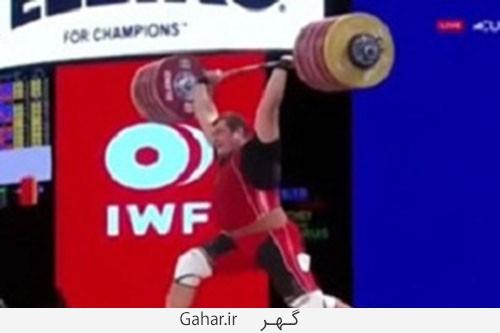 vazne 500x333 وزنه برداری که رکورد رضازاده را زد دوپینگش مثبت اعلام شد