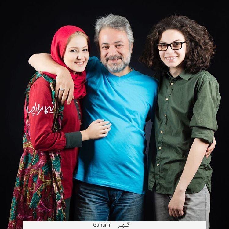 Bazigaran1 عکس های جدید بازیگران در کنار فرزندانشان دی 94