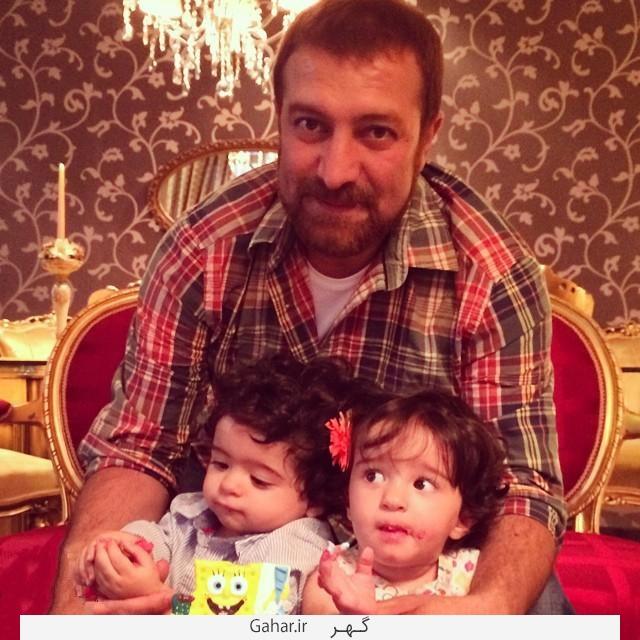 Bazigaran2 عکس های جدید بازیگران در کنار فرزندانشان دی 94