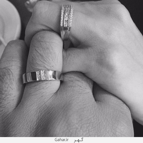azadeh2 پست جدید آزاده نامداری + عکس حلقه ازدواج خودش و همسر دومش