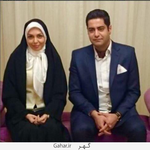 azadehnamdri انتشار اولین عکس آزاده نامداری در کنار همسر دومش