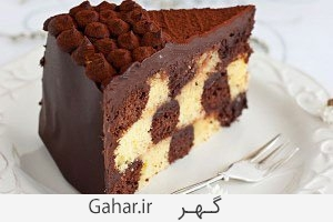 cake آموزش گام به گام درست کردن کیک شطرنجی