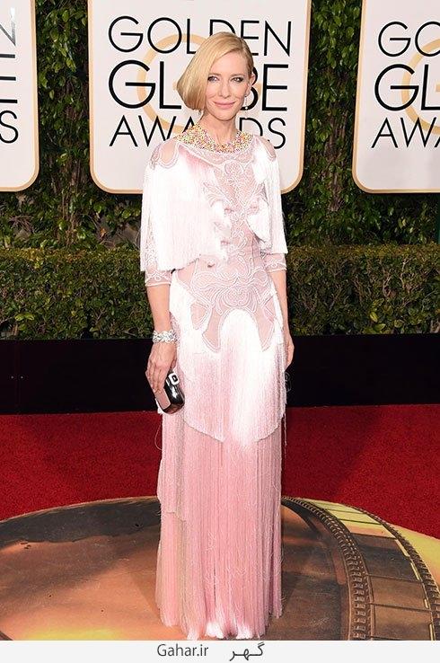 cate blanchett in givenchy مدل لباس بازیگران هالیوودی در مراسم گلدن گلوب 2016