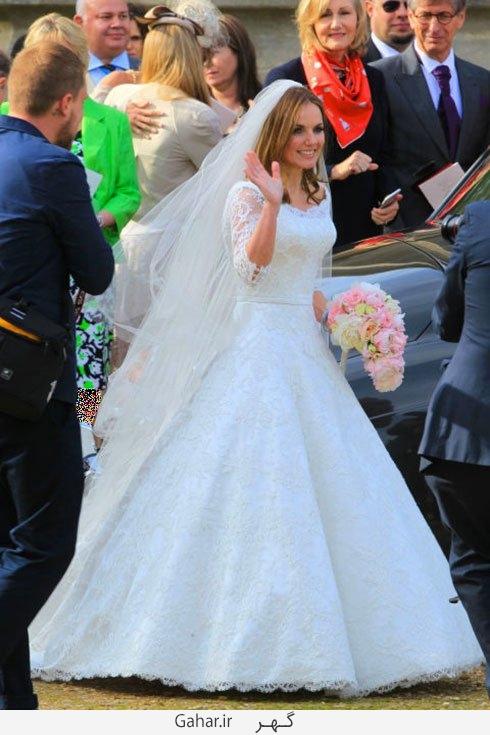geri halliwell عکس هایی از لباس عروس هنرمندان هالیوودی