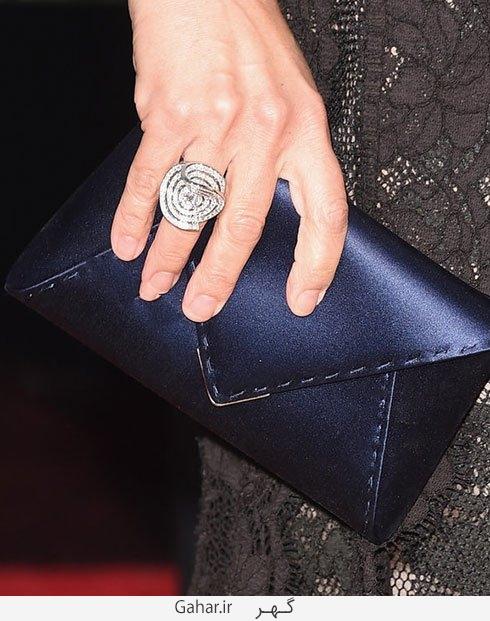 julia louis dreyfus مدل انگشتر بازیگران هالیوودی در مراسم گلدن گلوب 2016