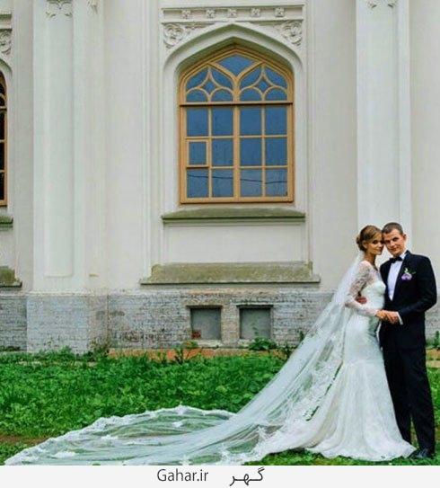 kate grigoerieva عکس هایی از لباس عروس هنرمندان هالیوودی