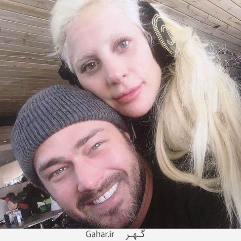 ladygaga1 عکس جدید لیدی گاگا و نامزدش چند دقیقه بعد از آغاز سال 2016