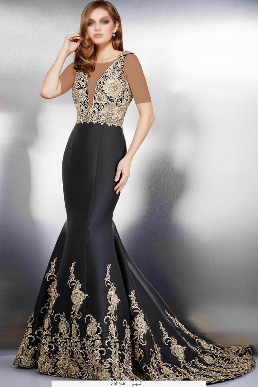 lebas shab13 جذاب ترین مدل لباس شب و مجلسی 2016
