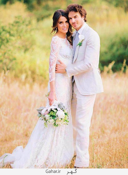 nikki reed عکس هایی از لباس عروس هنرمندان هالیوودی