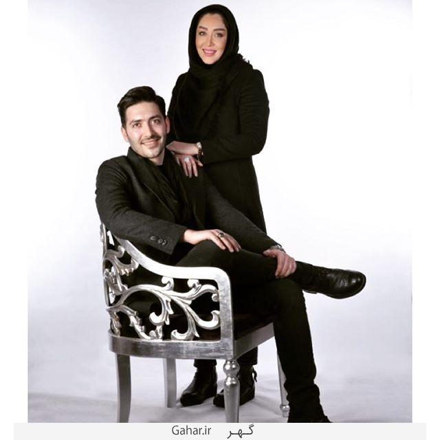 sara عکس جدید و آتلیه ای سارا منجزی پور در کنار برادرش