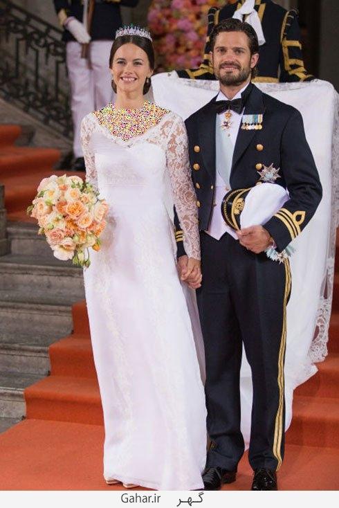 sofia hellqvist عکس هایی از لباس عروس هنرمندان هالیوودی