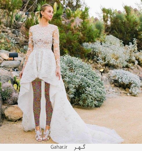whitney port عکس هایی از لباس عروس هنرمندان هالیوودی