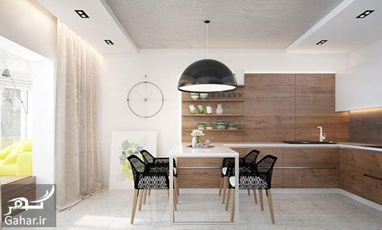 110425 Gahar ir راهنمای دکوراسیون داخلی آپارتمان با رنگ های متفاوت