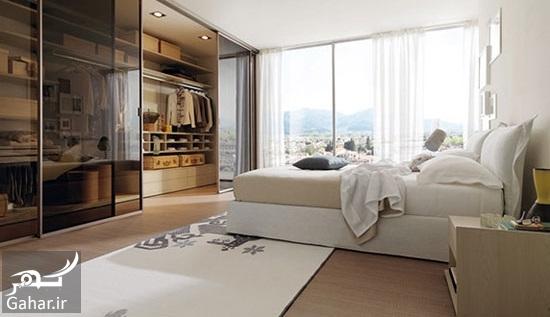 119159 Gahar ir مدل های دکوراسیون اتاق خواب در کنار کمد دیواری