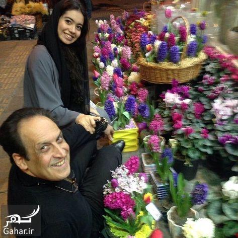 144868 Gahar ir عکس مجری معروف بهمن هاشمی و دخترش