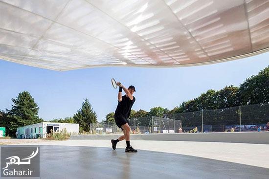 242857 Gahar ir طراحی باشگاه تنیس استراسبورگ + عکس