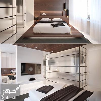 247062 Gahar ir مدل های دکوراسیون اتاق خواب در کنار کمد دیواری