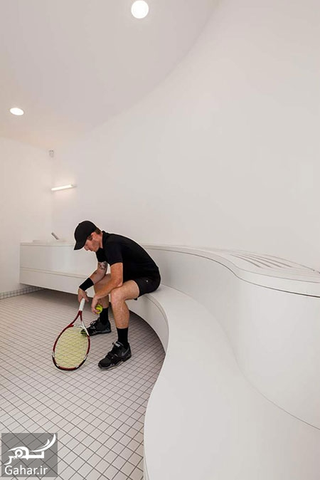 361390 Gahar ir طراحی باشگاه تنیس استراسبورگ + عکس