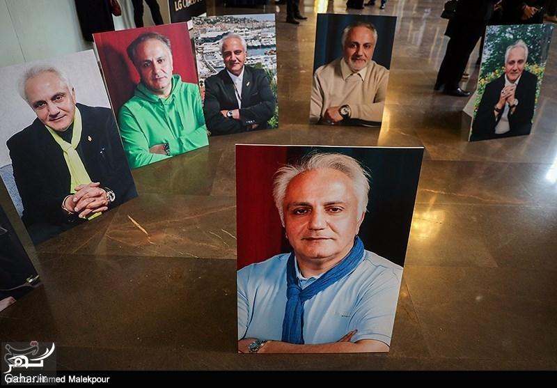 484990 Gahar ir عکسهای بازیگران در مراسم چهلم علی معلم