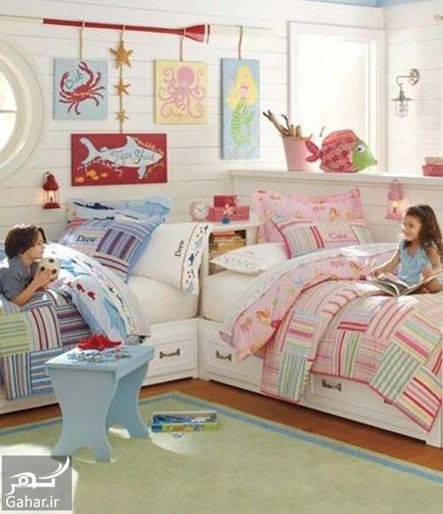 750202 Gahar ir دکوراسیون اتاق مشترک فرزندان در خانه های کوچک