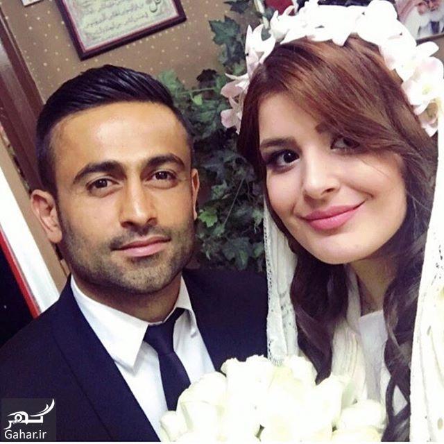769613 Gahar ir امید ابراهیمی ازدواج کرد / عکس همسر امید ابراهیمی