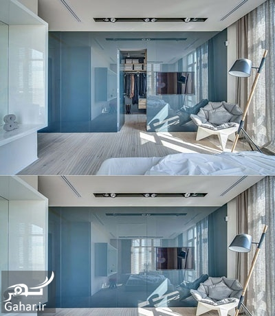 955525 Gahar ir مدل های دکوراسیون اتاق خواب در کنار کمد دیواری