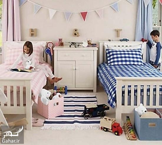 962107 Gahar ir دکوراسیون اتاق مشترک فرزندان در خانه های کوچک