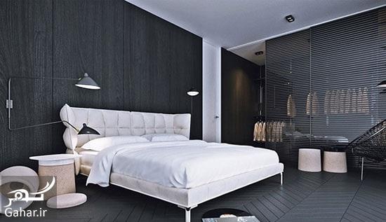 998739 Gahar ir مدل های دکوراسیون اتاق خواب در کنار کمد دیواری