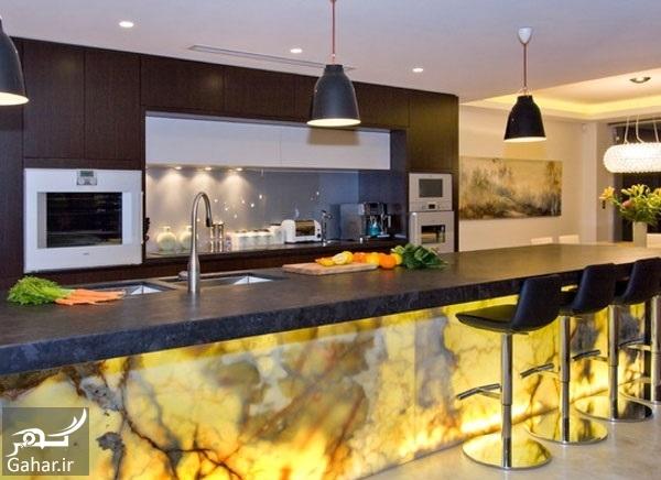 chidaneh 44371 3a418fb40e672f901535 w550 h440 b0 p0 contemporary kitchen پیشنهاداتی برای نورپردازی مناسب در دکوراسیون منزل