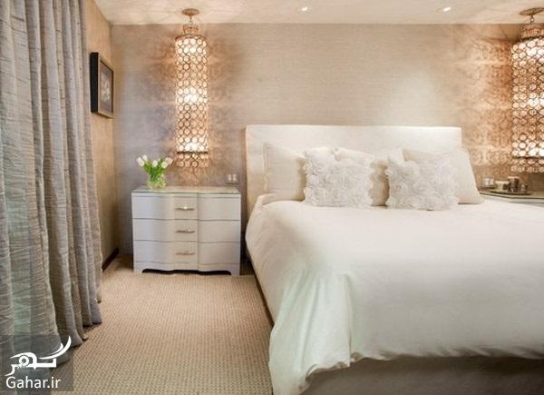chidaneh 44371 537128130fcfe08f8892 w550 h440 b0 p0 contemporary bedroom پیشنهاداتی برای نورپردازی مناسب در دکوراسیون منزل