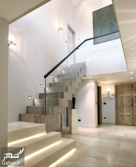 chidaneh 44371 a2d15c98030b673f5373 w550 h734 b0 p0 contemporary staircase پیشنهاداتی برای نورپردازی مناسب در دکوراسیون منزل