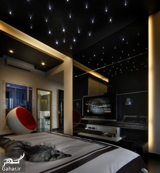 chidaneh 44371 contemporary bedroom پیشنهاداتی برای نورپردازی مناسب در دکوراسیون منزل