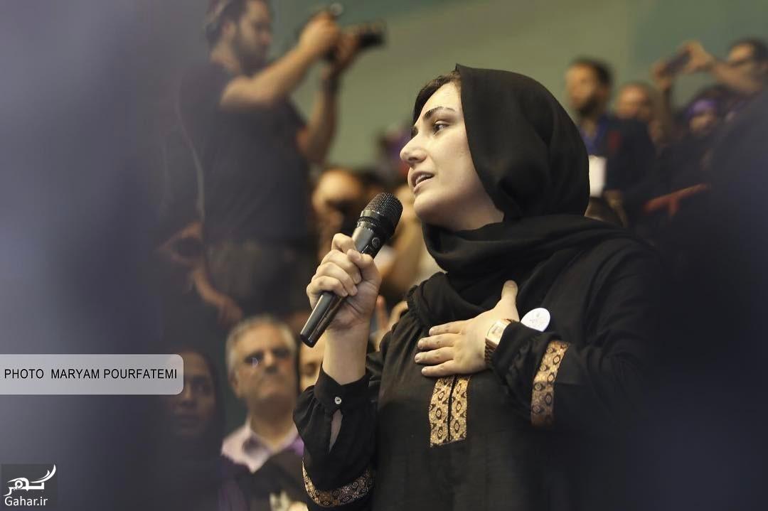 001353 Gahar ir عکس/ حضور بازیگران در همایش حامیان روحانی