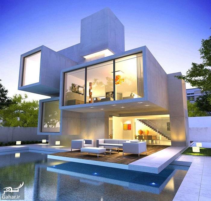 071229 Gahar ir عکسهای زیبا از نمای خانه یک طبقه لوکس
