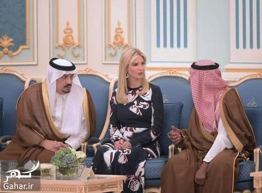 113932 Gahar ir عکس های دختر ترامپ وقتی وسط دو شاهزاده سعودی گیر می افتد