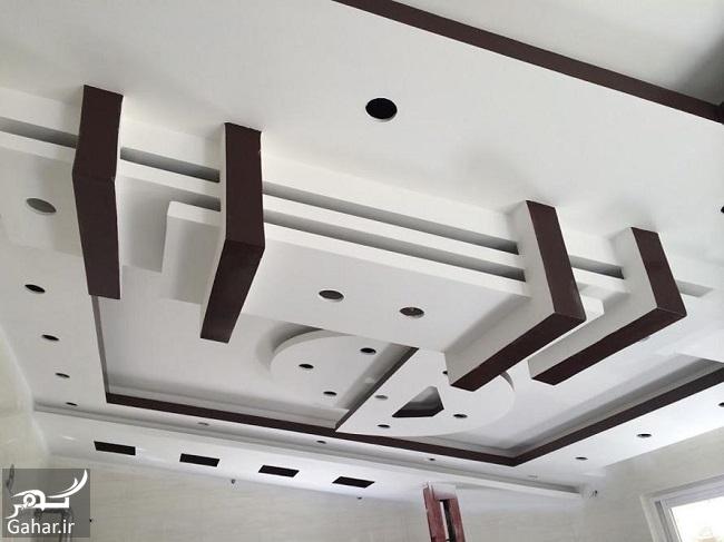 118228 Gahar ir مدلهای جدید و خاص سقف کناف (25 مدل سقف کاذب کناف)
