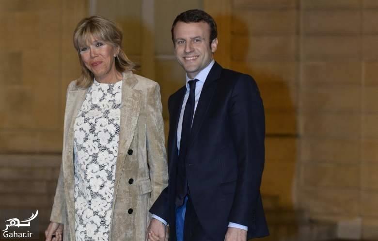 122691 Gahar ir درباره همسر رئیس جمهور جدید فرانسه با 25 سال اختلاف سنی ؛ عکس