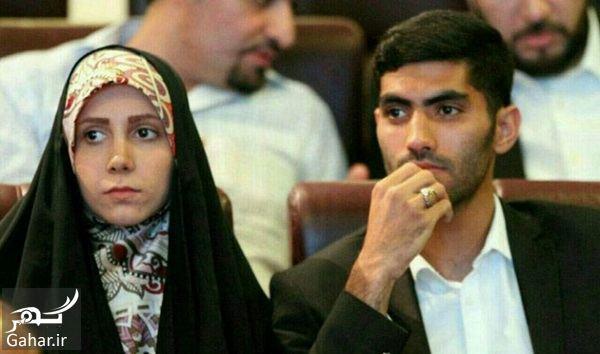 136993 Gahar ir عکس بازیکن معروف پرسپولیس محمد انصاری و همسر محجبه اش