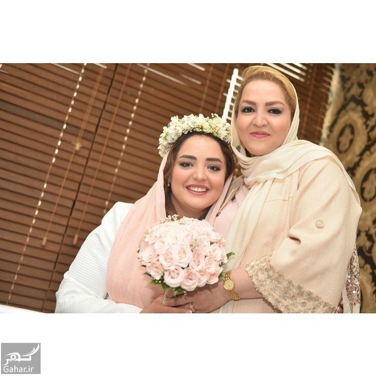 179873 Gahar ir عکس متفاوت نرگس محمدی به همراه مادرش در مراسم ازدواجش