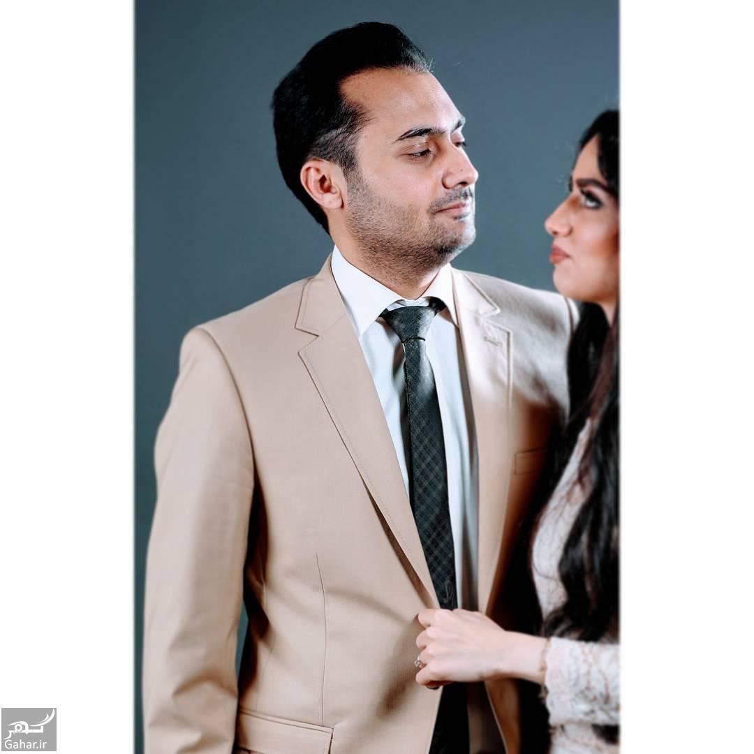 199960 Gahar ir عکس های جذاب هانیه غلامی و همسرش در مجله «ایده آل»