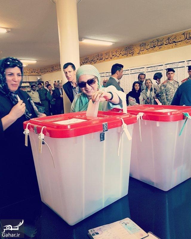 261664 Gahar ir عکس/ حضور بازیگران در دوازدهمین دوره انتخابات ریاست جمهوری