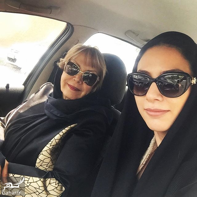 311355 Gahar ir عکس مونا فرجاد و مادرش