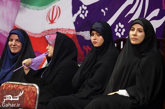 342425 Gahar ir عکس های همایش زنان و دختران حامی روحانی در تهران