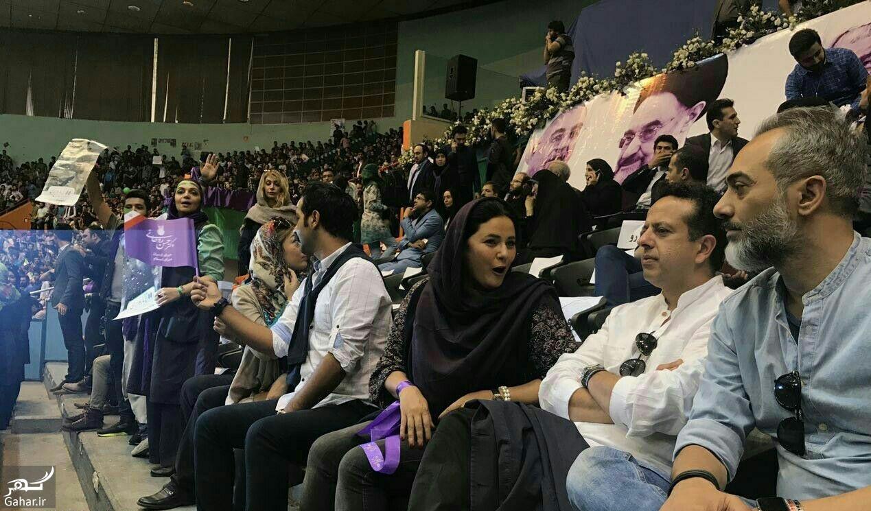 349977 Gahar ir عکس/ حضور بازیگران در همایش حامیان روحانی